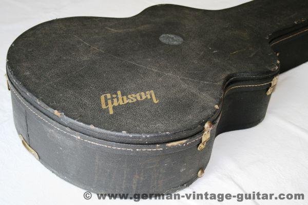 Gibson Vintage-Gitarrenkoffer für Jumbos und Jazzgitarren, siebziger Jahre