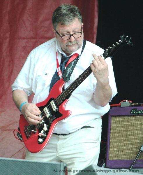Klira E-Gitarre aus den sechziger Jahren