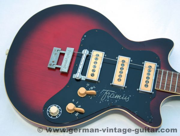 Framus 5/132 Hollywood, Ca. 1964