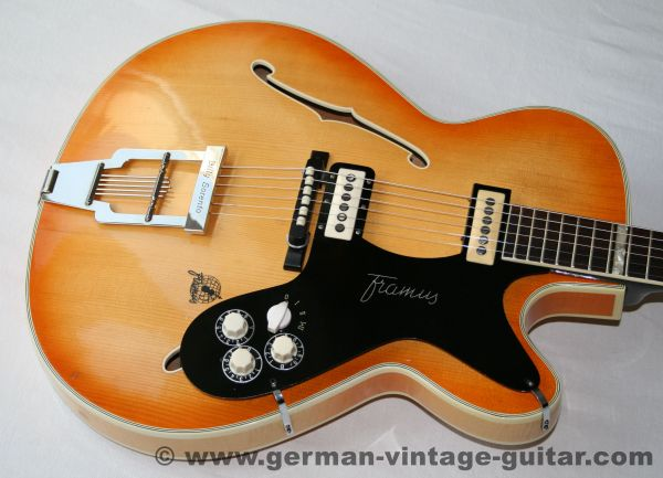 Framus 5/120 Billy Lorento, Thinline, 1960