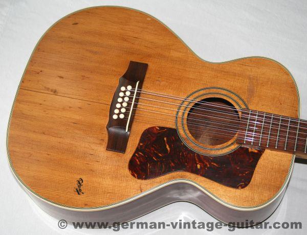 12-saitige Westerngitarre Hopf Jumbo, ca. 1965