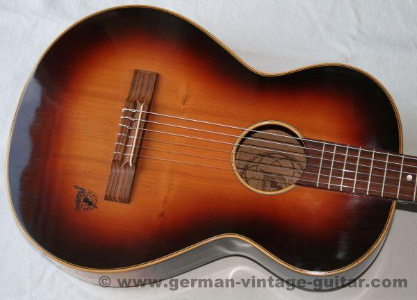 6-saitige 3/4 Konzertgitarre Framus 5/15 Figaro von 1956