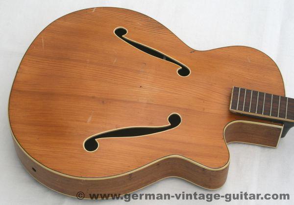Jazzgitarre Framus Missouri von 1959