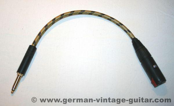 Adapter, alte deutsche Klinkenbuchse