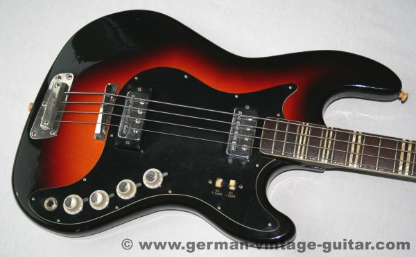 Höfner Bass 185, Sunburst, 1965