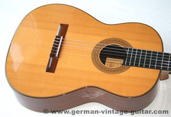 Max Strohmer 4/4 Meistergitarre, 1990