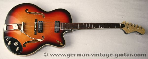 Klira Lady Thinline, 1965, Triumphator-Label (Quelle Versand)