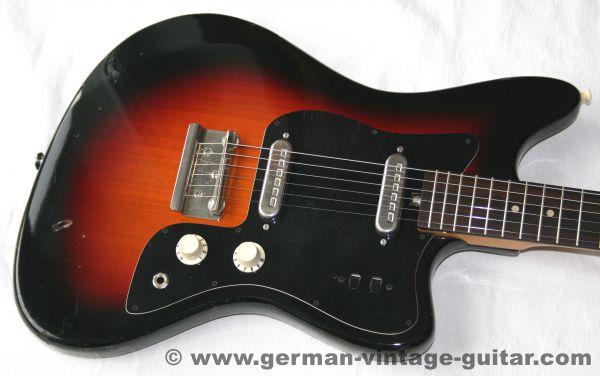 Solid-Body E-Gitarre Höfner 164 von 1975