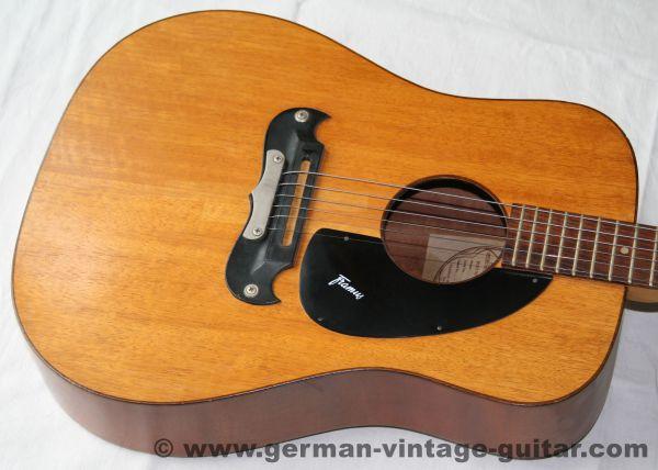 "12-saitige Westerngitarre Framus ""Dix"", 1974"