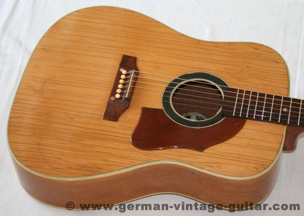 6-saitige Westerngitarre Arnold Hoyer von 1963