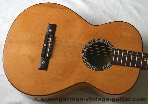 6-saitige Blues-/Parlour-/Wandergitarre Framus 5/1 Amateur von 1968