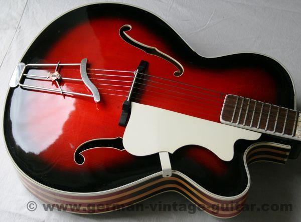 Jazz-/Schlaggitarre Höfner 457 von 1955