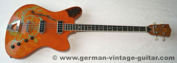 Framus 5/143 Atlantik Flower Power, 1967