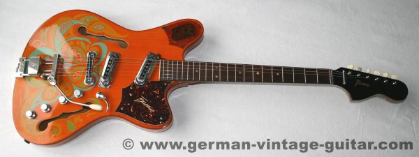 Framus S-11 Atlantik Flower Power, 1969