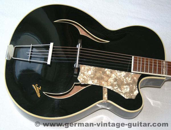 Isana Black Pearl, 1958, das Elvis-Modell