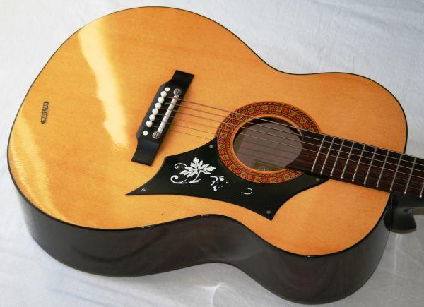 6-saitige Musima Folk-/Westerngitarre, frühe siebziger Jahre