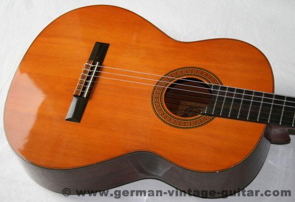 Japanische 4/4 Yamaha G-100A Konzertgitarre von 1970, Traumzustand