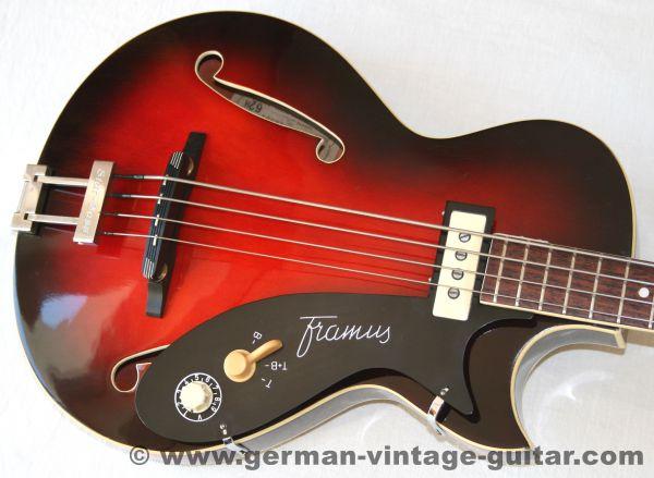 """Framus 5/149 """"Star-Bass"""" von 1961"""