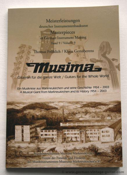 Buch: Musima – Die Geschichte 1954–2003, NEU