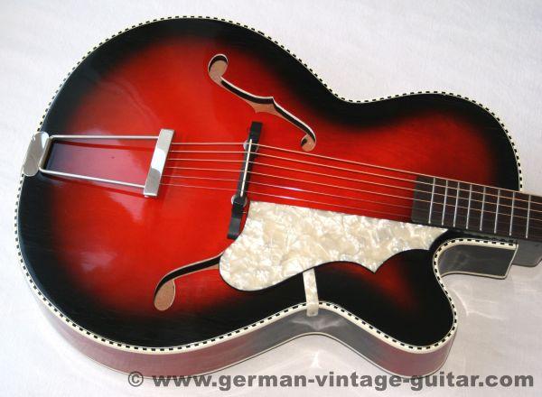 Fasan Jazz Cutaway, 1959