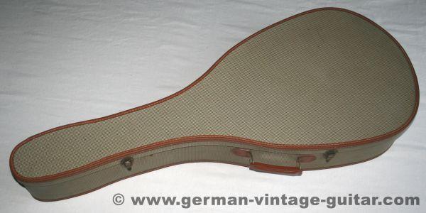 Vintage-Gitarrenkoffer, neuwertig, fünfziger Jahre