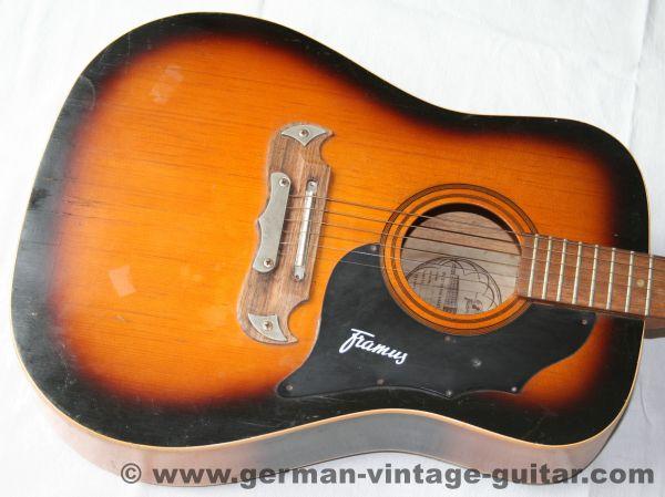 "12-saitige Westerngitarre Framus ""Texan"", 1970"