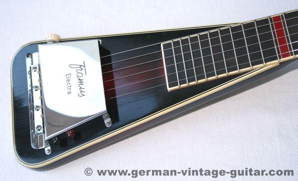 Framus 0/5 Electra, elektrische Lap Steel, 1957