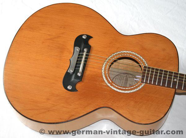 6-saitige Westerngitarre Framus Jumbo 05510 von 1974, toller Sound