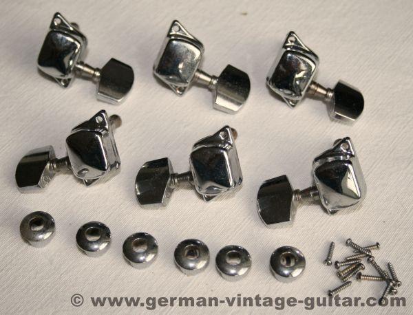 Tuner set, eighties/nineties, for steel strings & closed headstocks