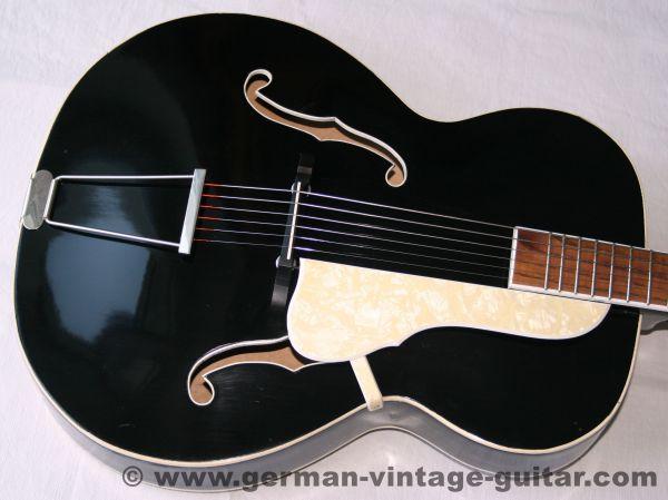 Jazzgitarre Wolfgang Hüttl, sechziger Jahre