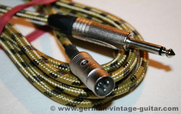 Kabel mit altem deutschen 3-Pol DIN-Stecker