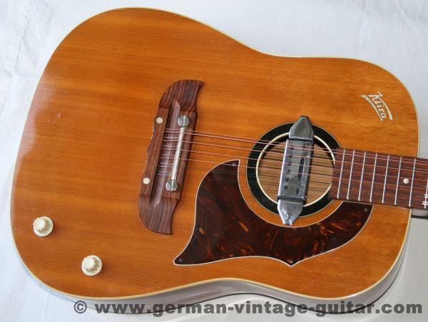 12-saitige Westerngitarre Klira Triumphator aus den sechziger Jahren