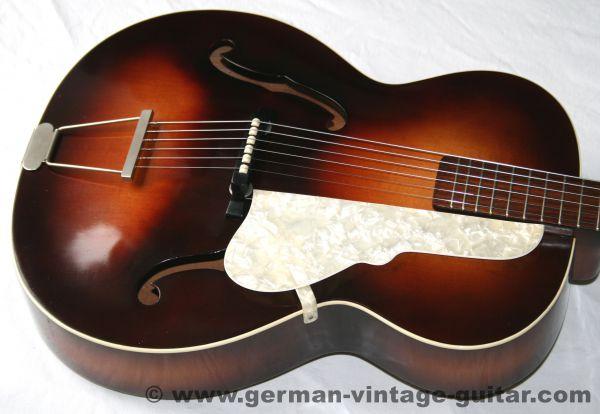 Jazz-/Schlaggitarre Höfner 449 von 1968 aus 1. Hand, Topzustand