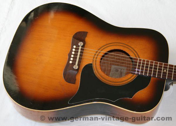 6-saitige Westerngitarre Framus Texan 5/196 von 1965, Originalzustand