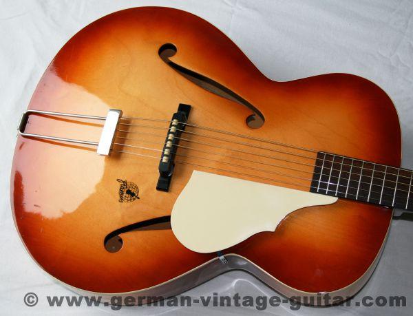 Jazz-/Schlaggitarre Framus Stella 5/53 von 1959, neuwertiger Zustand