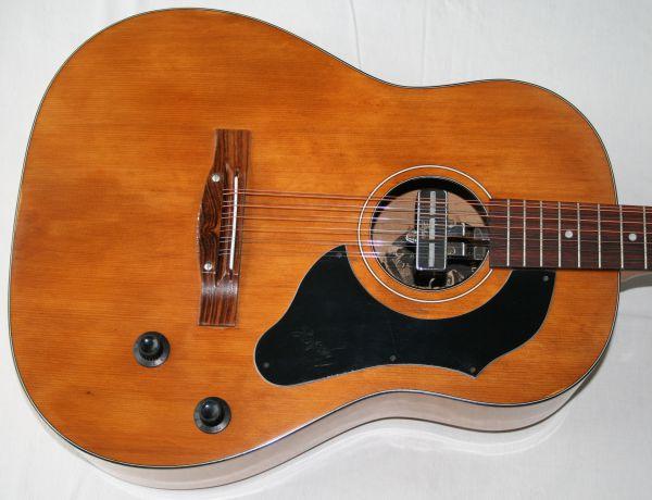 12-saitige Westerngitarre Höfner 490 E von 1970