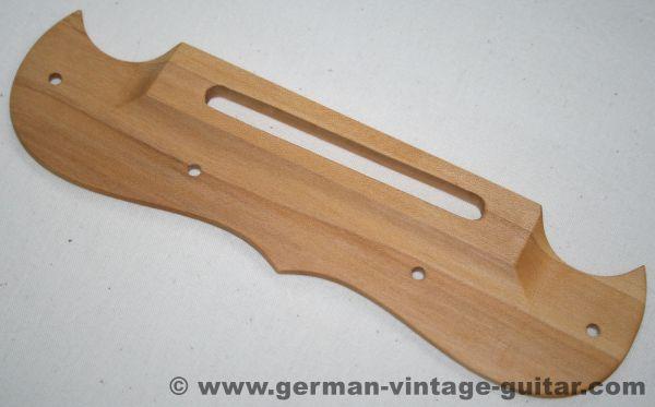 Framus Saitenhalter AHORN, Massivholz-Nachbau, Handarbeit