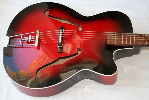 Jazzgitarre Hopf von 1963