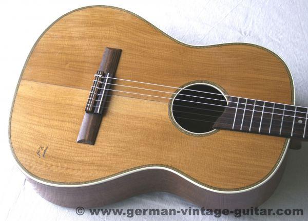 4/4 Konzertgitarre Hopf von 1957