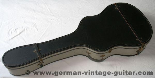 Vintage-Gitarrenkoffer für Westerngitarren aus den sechziger Jahren, seltenes Stück