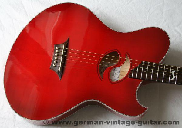 """Akustische E-Gitarre Kraushaar """"Stageplayer"""" von 2005, neuwertiger Traumzustand"""
