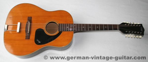Hopf 12-string Round Shoulder, 1967