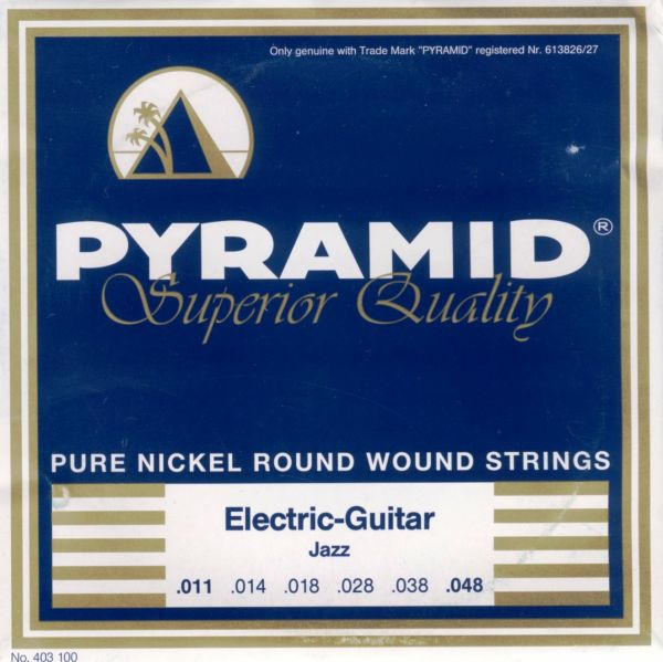 Pure Nickel Round Wound, Superior, JAZZ