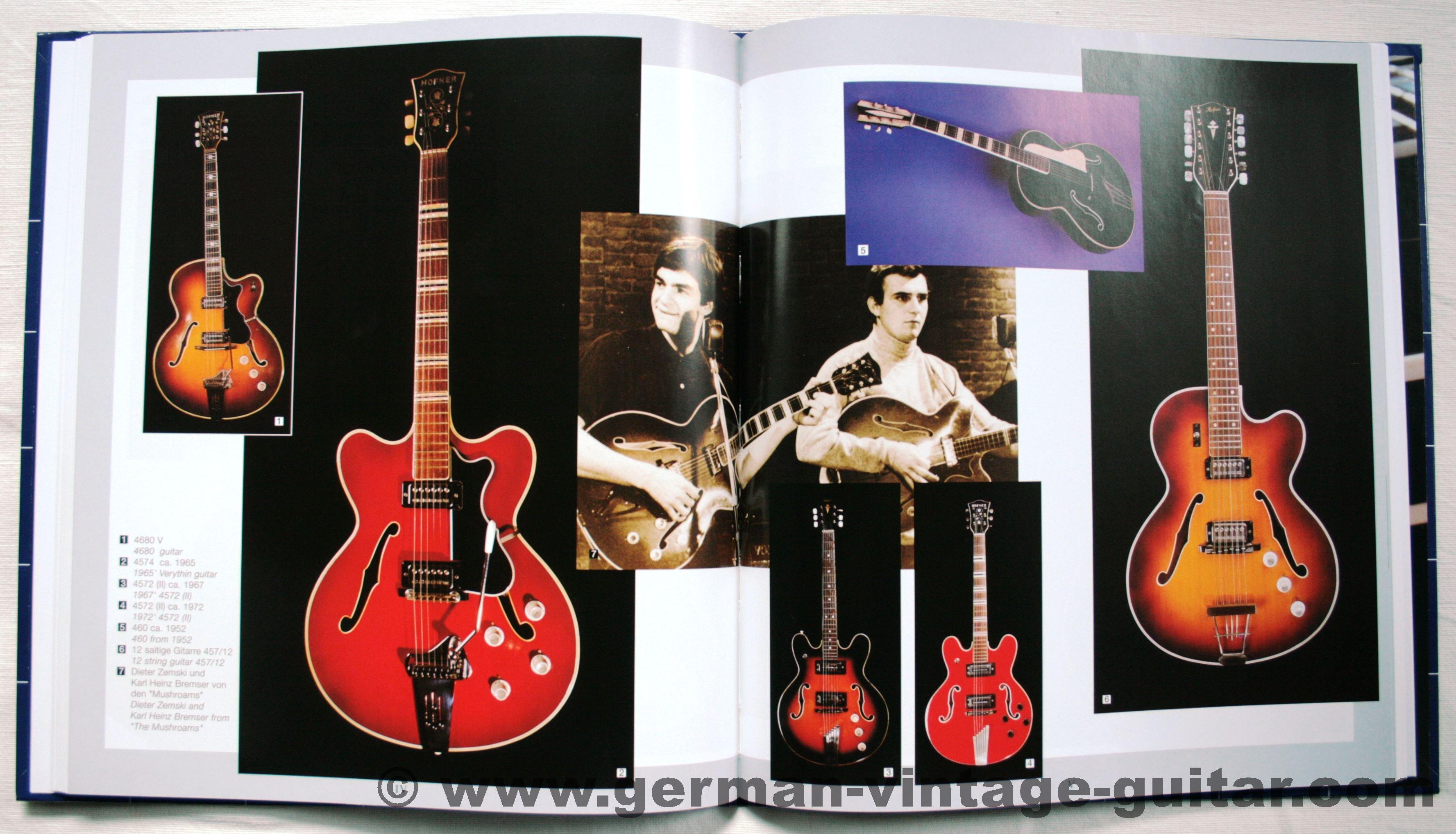 book h fner guitars made in germany by michael naglav german vintage guitar. Black Bedroom Furniture Sets. Home Design Ideas