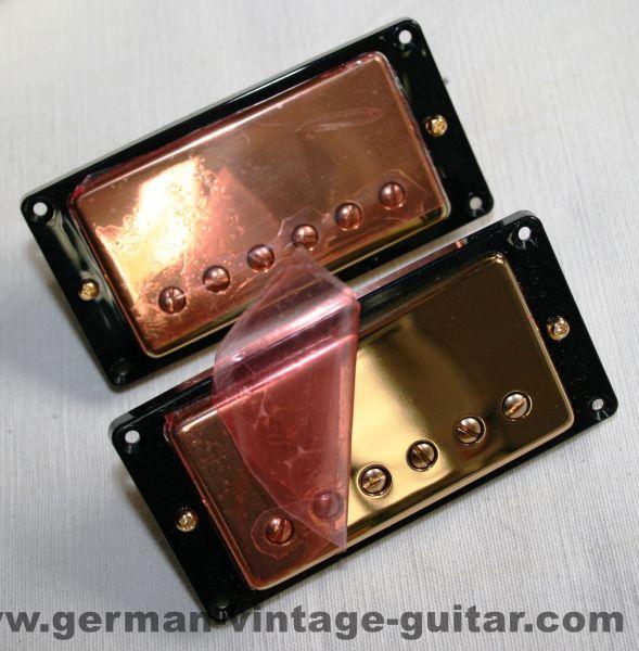 "Gibson ""T-Bucker"" gold, originalverpackt, Siebziger"