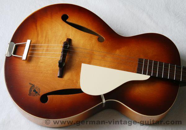 4-saitige Tenorgitarre: Framus Peter Kraus von 1959