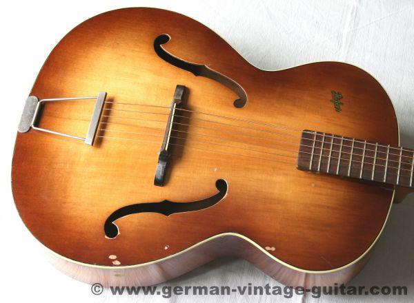 Jazzgitarre Höfner 449 von 1959