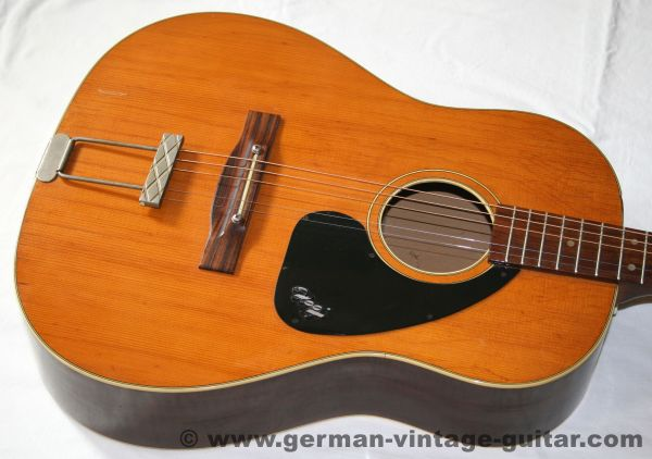 Hopf Round Shoulder 12-string, 1966