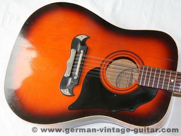 12-saitige Westerngitarre Framus Texan 06100 von 1976