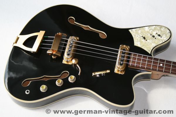 Framus 5/152-52 Golden TV Starbass, Thinline, 1965